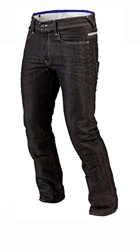 Juicy Trerdz Denim Motorcycle Motorbike Sports Jeans With Aramid Protection Lining Black W38 X L34