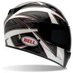 Bell Mens Vortex Full Face Motorcycle Helmet Flack White Extra Large XL