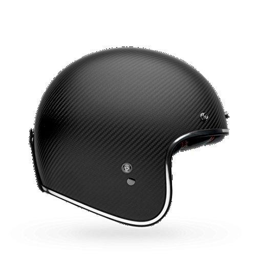 Bell Custom 500 Carbon Classic Helmet - Matte Black - Medium