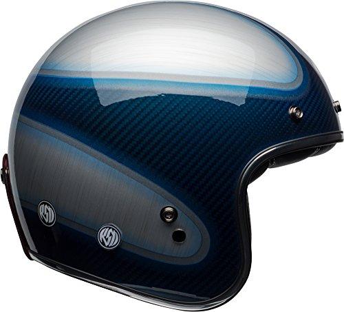 Bell Custom 500 Carbon Classic Helmet - RSD Gloss Candy Blue Jager - Medium
