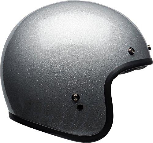 Bell Custom 500 Classic Helmet - Gloss Silver Flake - XX-Large