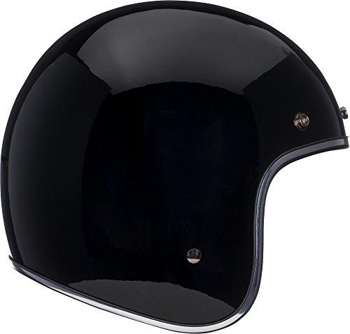 Bell Custom 500 Classic Helmet - Gloss Solid Black - X-Large