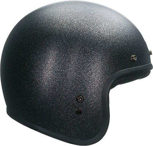 Bell Custom 500 Classic Helmet - Solid Black Flake - Medium