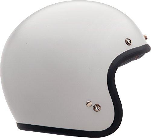 Bell Custom 500 Classic Helmet - Solid Vintage White - Medium