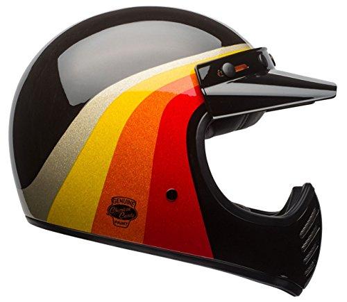 Bell Moto-3 Classic Helmet - Chemical Candy Black  Gold - Medium