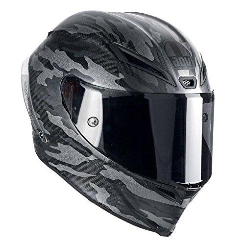 AGV Pista GP Adult Mimetica Street Motorcycle Helmet - BlackGrey  X-Large