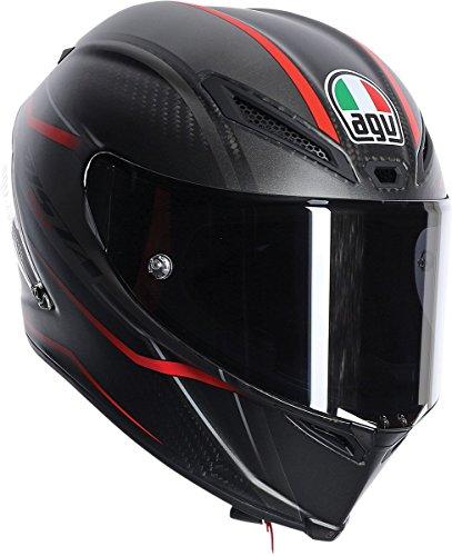 AGV Pista GP Gran Premio Rosso Helmet BlackRed MediumLarge
