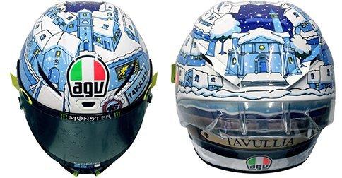 AGV Pista GP R Carbon Helmet 2017 Valentino Rossi Winter Test 2017 DOT ML