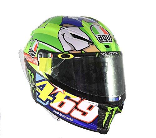 AGV Pista GP R Carbon Valentino Rossi Limited Edition Mugello 2017 469 Kentucky Kid Tribute Motorcycle Helmet - SIZE MEDIUM-LARGE