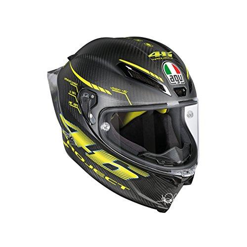 AGV Pista GP R Project 46 20 Matt Carbon Motorcycle Helmet VR46 GP-R