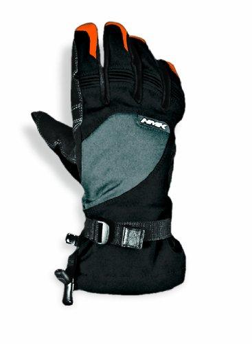 HMK Long Gauntlet Union Gloves GrayOrange X-Large
