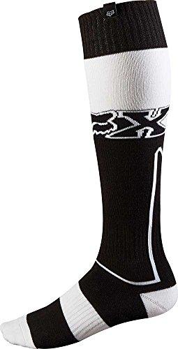 2015 Fox Racing Fri Imperial Thick Mx Socks (l, Black/white)