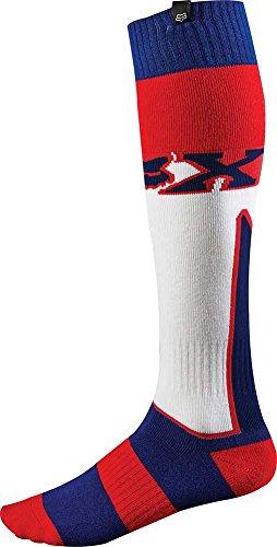 2015 Fox Racing Fri Imperial Thick Mx Socks (m, White/red/blue)