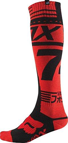 2016 Fox Racing Fri Union Thick Socks (l, Red)