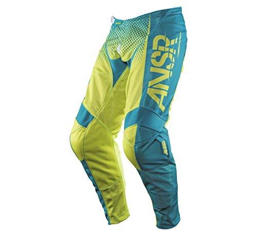 Answer Racing Syncron Air Pants - 38 WaistYellowBlue