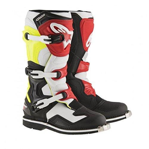 Alpinestars Tech 1 Motocross Boot - BlackWhiteRed - 13