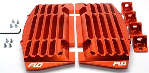 Flo Motorsports Orange 2016-2017 Radiator Guardbraceshrouds Ktmhusqvarnahusaberg Orange