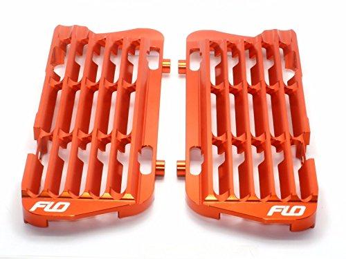 Flo Motorsports Orange Radiator Guardbraceshrouds Ktmhusqvarnahusaberg