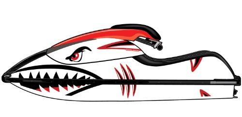 Exotic Signs Kawasaki 800 SX-R Sandtiger Shark Graphic kit - EK0032K800