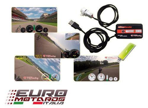PZRacing Video Logger Plug&Play Kawasaki Z750 Z1000 2010-2015 Z800 Versys 1000