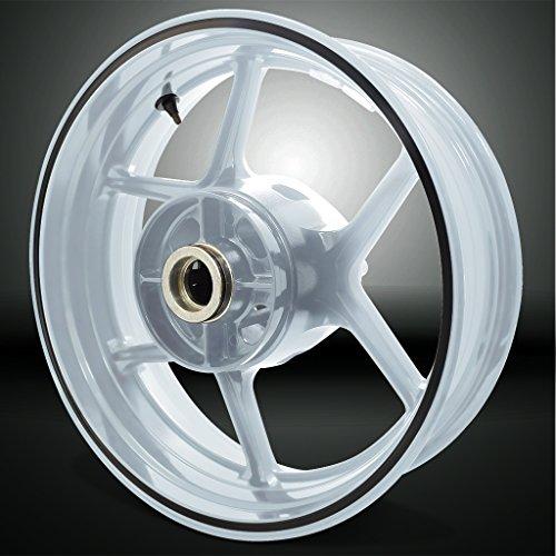 Thick Outer Rim Liner Stripe for Kawasaki Z750 Reflective Black