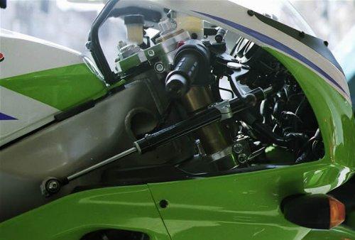 Kawasaki ZXR 750-750R 1993-1995 Toby Steering Damper Stabilizer Mount Kit