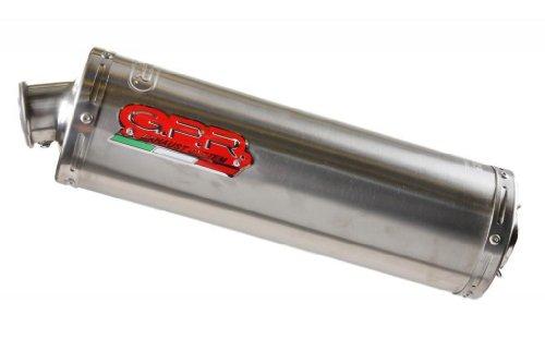 Kawasaki ZXR 750 96 GPR Exhaust Systems Oval Titanium Slipon Muffler Road Legal With DB Killer Link Pipe