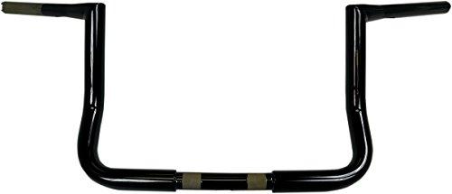 LA CHOPPERS LA-7361KT2-10B Black Ape Hanger Handle Bar Kit BarCbl KT10