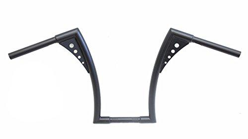 Mutazu Black APE HANGER BARS CHUBBY 1-12 HARLEY HANDLEBARS fit Harley HD