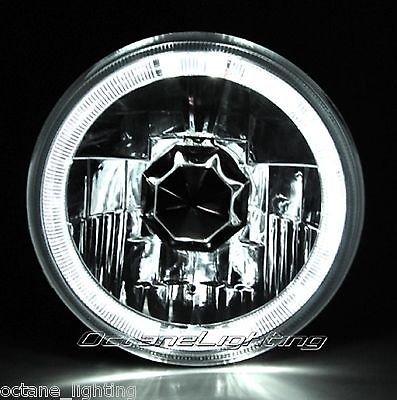 OCTANE LIGHTING 5-34 White Halo Halogen H4 Bulb Headlight Angel Eye Led Fits Harley Motorcycle