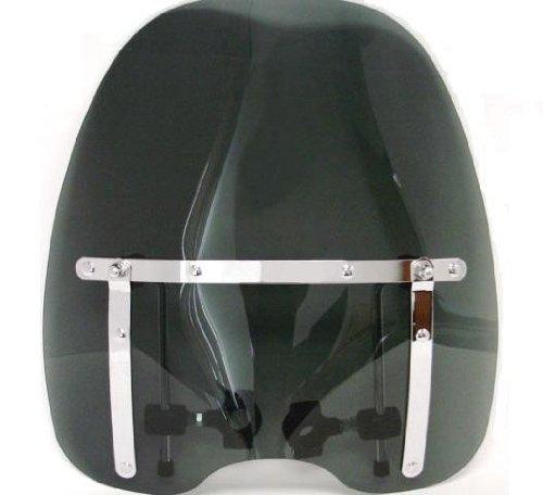 TMS Smoke Tinted Windshield for Kawasaki Yamaha Honda Suzuki Harley Motorcycle