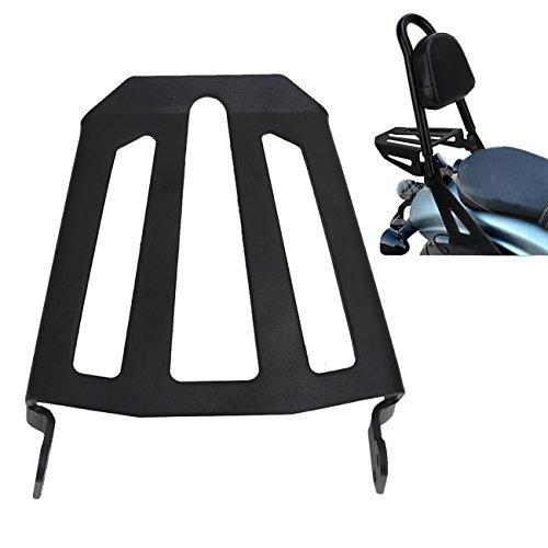 Detachable Passenger Backrest Luggage Rack for Yamaha Bolt Cruiser Black Midnight 2014-2017