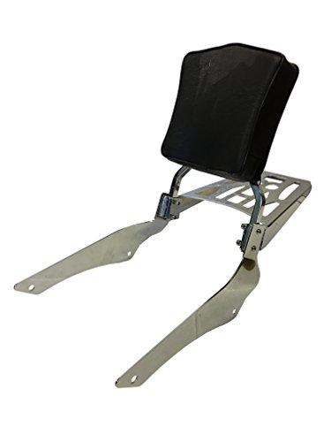 Sissy Bar Backrest Luggage Rack for 98 Yamaha V-Star 650 Classic XVS650A