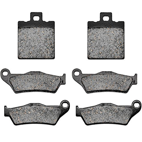 KMG 2005-2006 Ducati Monster 620 Front  Rear Non-Metallic Organic NAO Brake Pads
