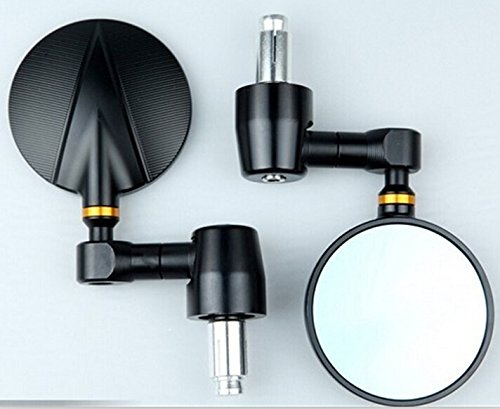 One pair of CNC Billet Bar End Mirrors for Ducati Monster 796