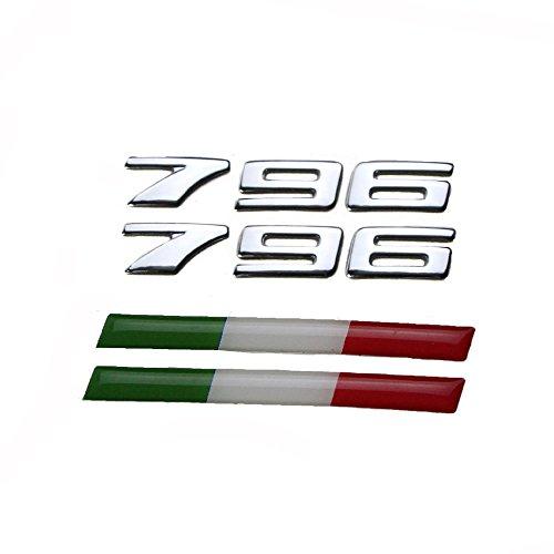 PRO-KODASKIN Motorcycle Universal 3D Raise Emblem Stickers Decal for Ducati Monster 796