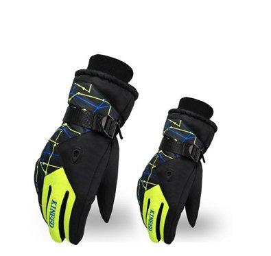 Modovo Kineed Men's Ski Gloves Windproof Waterproof Warmth
