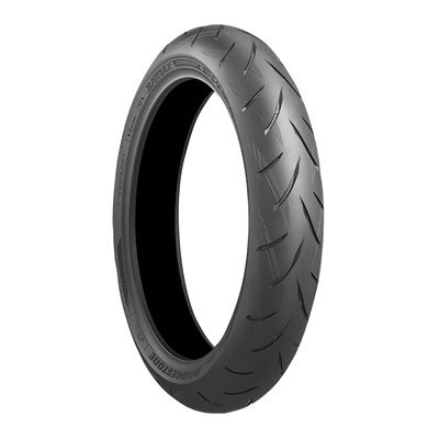 12070ZR-17 58W Bridgestone Battlax S21 Hypersport Front Motorcycle Tire for Ducati 1100 Hypermotard EVO SP HM1100 2010-2012