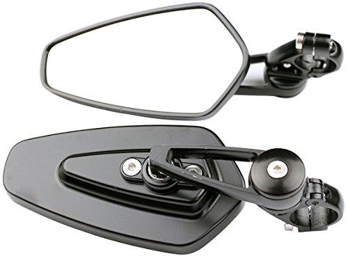 Arrow Bar End View Mirrors for 1994 Harley-Davidson Dyna Low Rider Custom FXLR