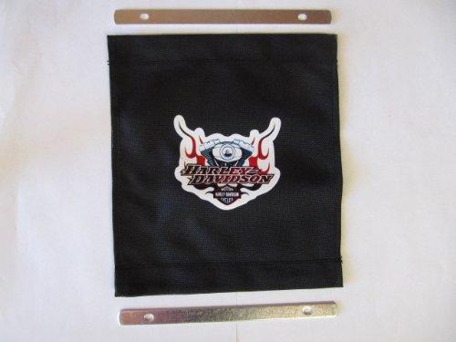 Replacement Lid Tether for Harley Davidson Touring Hard Saddlebags - Logo