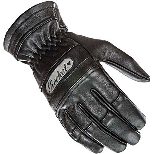Joe Rocket Classic Women's Leather Street Racing Motorcycle Gloves - Black / Medium
