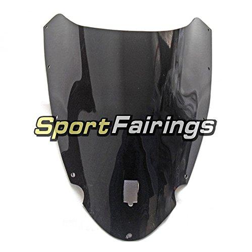 Sportfairings Motorbike Windshield For Ducati 999 749 Year 2003 2004 Double Bubble Fairing Windscreen Black