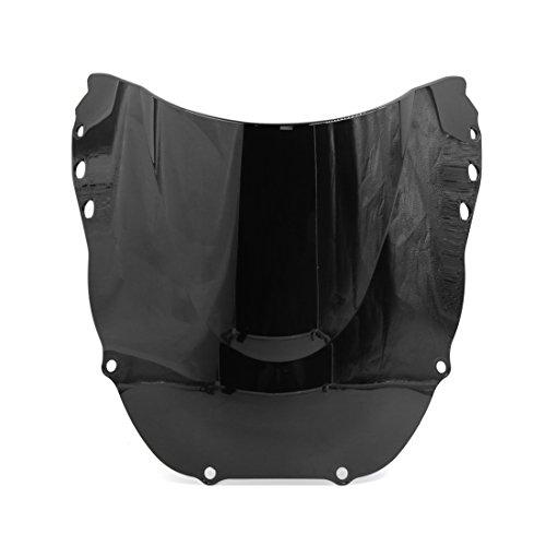 uxcell Black Plastic Motorcycle Motorbike Windshield Windscreen for Honda CBR900RR CBR919RR 1998-1999