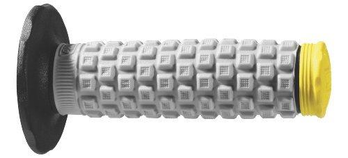 Pro Taper Pillow Top MX Grips - BlackGreyYellow