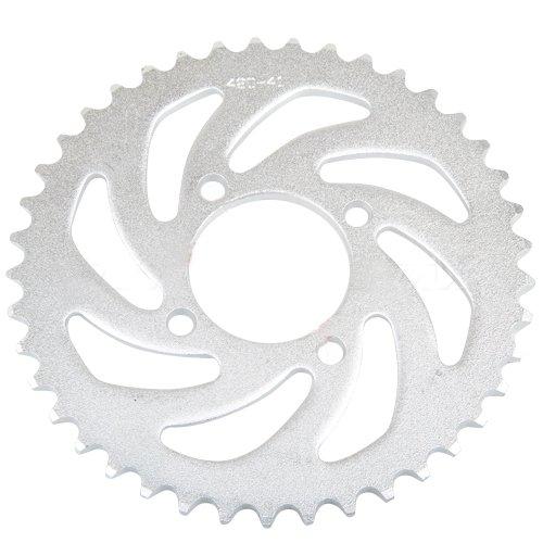 420 Chain 41 tooth Rear Sprocket for 50 cc 70cc 110 cc 125cc Dirt Bikes Pit Bike