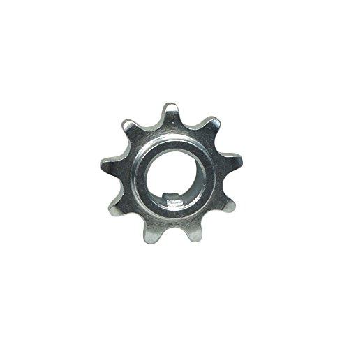 Monster Motion 9 Tooth 4041420 Chain Sprocket for Custom Go-Karts and Mini Bike Setups