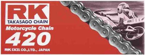 RK 420 M Standard Chain - 110 Links  Chain Type 420 Chain Length 110 Chain Application All 420X110 RK-M