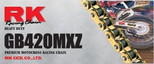 RK 420 MXZ Heavy Duty Chain - 110 Links  Chain Type 420 Chain Length 110 Chain Application All 420MXZ-110