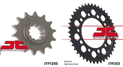 Front Rear Sproket Kit for HONDA CBR600 F2F3-520 Chain Conversion-USA 91-98 JT Sprockets