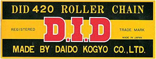DID 530 Standard Non O-ring Clip Drive Chain X 130 Links Max 450 CC D18-531-130